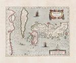 ヤンソニウス「新日本地図」