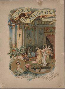 ユージーン・アルノー作曲 <ミカド・ポルカ>(1889年)