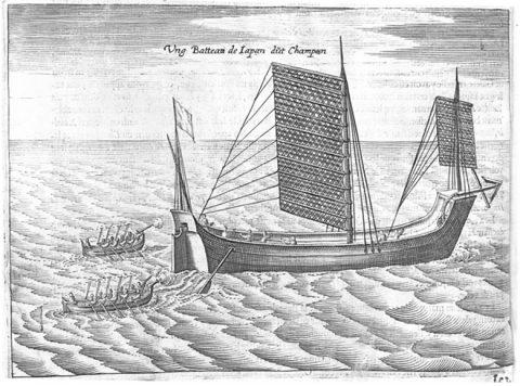 ファン・ノールト「日本の船」