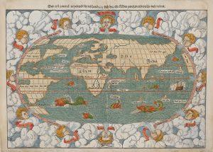 ミュンスター作の世界図