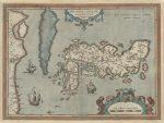 テイシェイラ作の日本列島地図