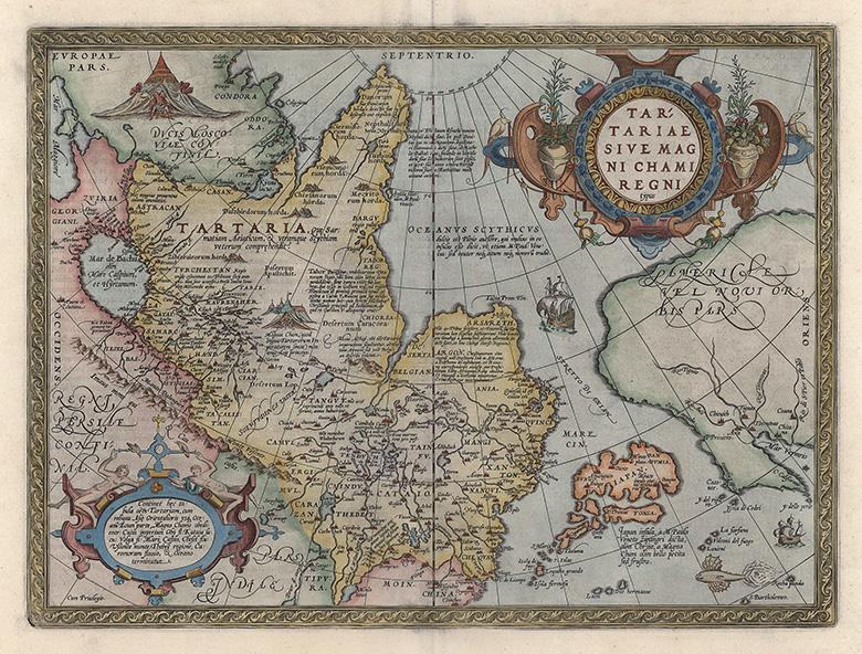 タタール図 | 地図